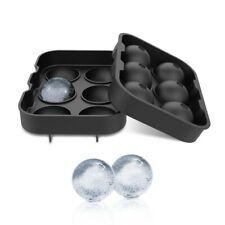 Silikon Eiswürfelbereiter Eiswürfelschale 6 große Kugeln Durchmesser je 4,5 cm