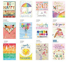 Punch studio greeting cards party supplies ebay punch studio molly rex words in bloom pocket note pads choose design m4hsunfo