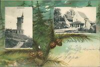 Ansichtskarte Loretto Capelle Freiburg i.B. 1901 Hildathurm (Nr.714)