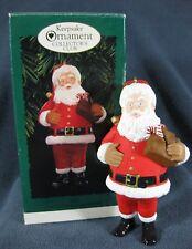 Santa Christmas Tree Ornament Hallmark Keepsake Collector's Club 1996