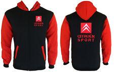 Citroen Sport Hoodie Sweat a Capuche