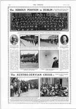1914 Dublin Crowd Problems Three Shot Dead Run On Berlin Savings Bank