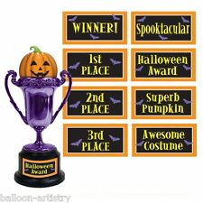 "6"" Halloween Award Trophy Halloween Fancy Dress Party"
