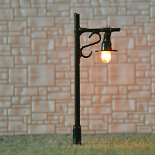 20 pcs N scale Model Lampposts 12V street lights black scenery Lamps #R34-5B