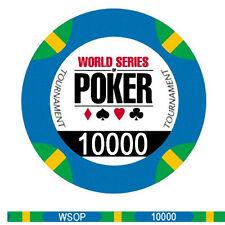 Fiches Ceramica WSOP World Series of Poker Valore 10000