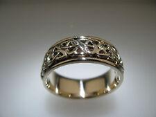 14k White Gold Celtic Ring 12.7 grams Size 12.5