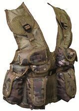 Kids PLCE Action Paintball assaut Vest Army Multicam match hmtc Camo SWAT