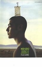 PUBLICITE advertising 1995    KENZO JUNGLE le parfum pour HOMME