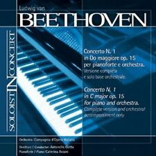 Music minus One Piano:Beethoven Piano Concerto No. 1 in C, op 15(Soloist-In-Conc