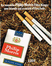 PUBLICITE  1971   PHILIP MORRIS  cigarettes