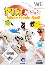 Petz Sports - Wilder Hunde-Spaß (Nintendo Wii, 2008, DVD-Box)