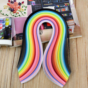 260 Paper quilling strips flower gift paper for  craft handmade paper Decor A_cd