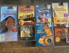 Lot Of 6 Brand New Disney Soundtrack Cassette Tapes