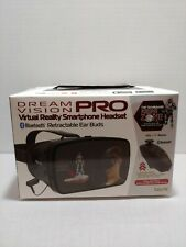 Tzumi Dream Vision Pro Virtual Reality Smartphone Headset Bluetooth Ear Buds New