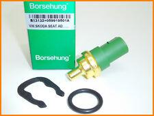 VW Audi, Skoda Sensor de Temperatura del Refrigerante Del Agua borsehung 059919501A-Nuevo