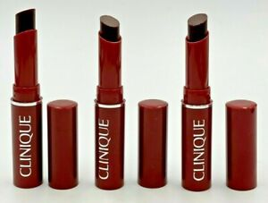 3 X CLINIQUE Almost Lipstick BLACK HONEY .04oz Travel Size ~ NWOB + FREE SHIPPIN