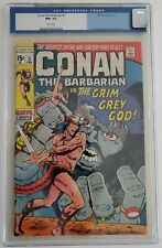 CONAN THE BARBARIAN  3  CGC 9.2 - 0039171002 - WHITE pages!
