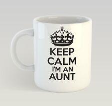 Keep Calm I'm An Aunt Mug Funny Birthday Novelty Gift Family Aunty Auntie