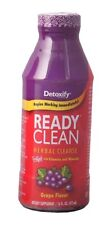 Detoxify Ready Clean 16oz Bottle Grape Flavor  FREE Expedited Shipping(d26)