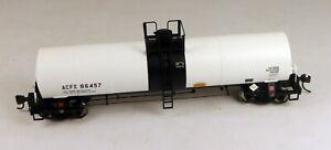 Atlas #1553-3 17,360 Gallon Tank Car ACFX (White) #86457 1/87 HO Scale