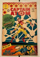 CAPTAIN ATOM #83! Charlton Comics 1966! 1ST TED KORD Blue Beetle! SEE PICS! WOW!