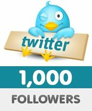 1000 HQ twitter followers