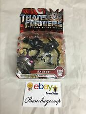 NEW Hasbro Transformers Revenge of the Fallen Deluxe Ravage Figure 2 DAY GET