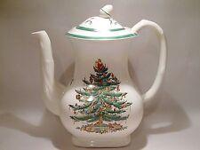Copeland Spode Christmas Tree Coffee Pot S3324 Older Mark