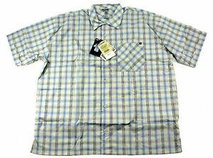 Blackhawk Warrior Mens Tactical 1700 Button Up Shirt Blue Plaid 3XL XXXL NWT
