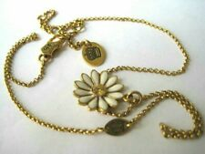 Juicy Couture Gold Tone Daisy Necklace 18""