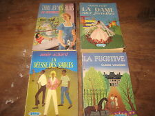 Lot de 4 Livres de poche Collection LES HEURES BLEUES