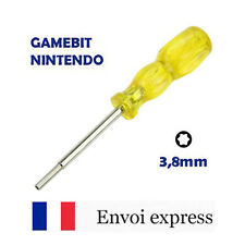 Tournevis GAMEBIT 3,8 mm - Nintendo NES SNES N64 Sega Game gear 3,8mm