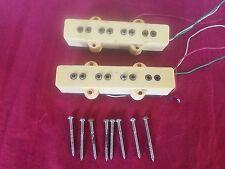 """Vintage 1970's Dimarzio Jazz Bass Neck/Bridge Pickups PAF """"Pattent Applied For"""""""