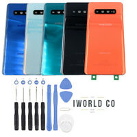 For samsung Galaxy S10 Plus Back Glass Battery Cover Replacement Door +Tools