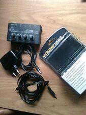 BEHRINGER MICROAMP HA400 amplificatore per cuffia compatto 4 canali stereo NUOVO