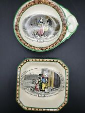 Adams Tunstall England CRIES OF LONDON pair of  Trinket Dishes
