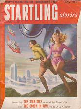 Startling Stories Nov 1952 - L. Sprague de Camp, Joel Townsley Rogers, Roger Dee