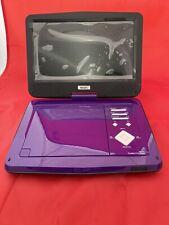 "SUNPIN Portable DVD Player 10"" with HD Swivel Screen, Long Lasting Purple"