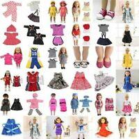 Puppe Hosen Schuhe Kleid Rock Tops für 18 zoll Mädchen Kleidung Spielzeug P Y5Z3