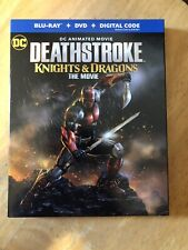 SLIP COVER ONLY Deathstroke Knights And Dragons Blu Ray SLIP COVER ONLY