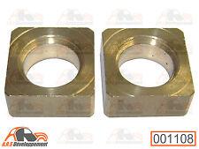 2 Dés (9mm) pour crémaillère direction de Citroen 2CV DYANE MEHARI AMI6  -1108-