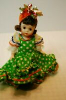 "Madame Alexander 8"" Collectible Doll Brazil  with box"