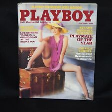 PLAYBOY MAGAZINE JUNE 1984 CENTER FOLD TRICIA LANGE, PICTORIAL TOP PLAYMATE