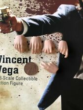 STAR ACE Vincent Vega Pulp Fiction Hands x 5 loose 1/6th scale