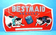 Vintage Bestmaid Needle Case Book