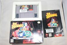 The Brainies (Super Nintendo SNES) Complete in Box GOOD Shape