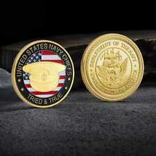 TRIED TRUE UNITED STATES NAVY CHIEFS Commemorative Challenge Coin
