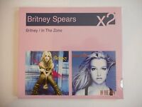 BRITNEY SPEARS (2 CD NEUFS) : OVERPROTECTED /  TOXIC / ME AGAINST...  | PORT 0€