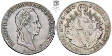 S88/35 RDR Franz I. / II. 1/2 Taler 1830 A Wien für Ungarn