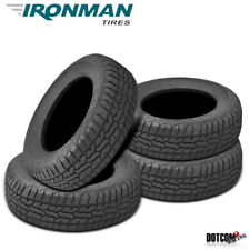 4 X New Ironman All Country A/T 245/75/17 121/118Q All Terrain Truck SUV Tire